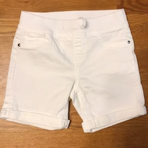Justice Bottoms - Justice White Shorts